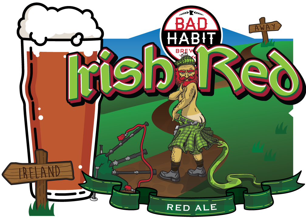 IRISH RED - Red Ale | 5.1% ABVTop O' the morning to ya! This traditional Irish Red Ale is a pot of gold at the end of the craft beer rainbow. It is a well balanced, clean, malty and low on bitterness. When we have this on tap, consider it your lucky day!
