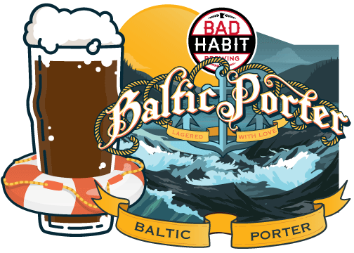 BALTIC PORTER - Baltic Porter | 8% ABVThis beer was born in the heart of the cold winter. Cold fermented, and then cold lagered until it was ready for spring. It has a robust flavor of roasted malts and is perfect for sipping on these cooler spring days. At 8% it will keep you nice and warm.