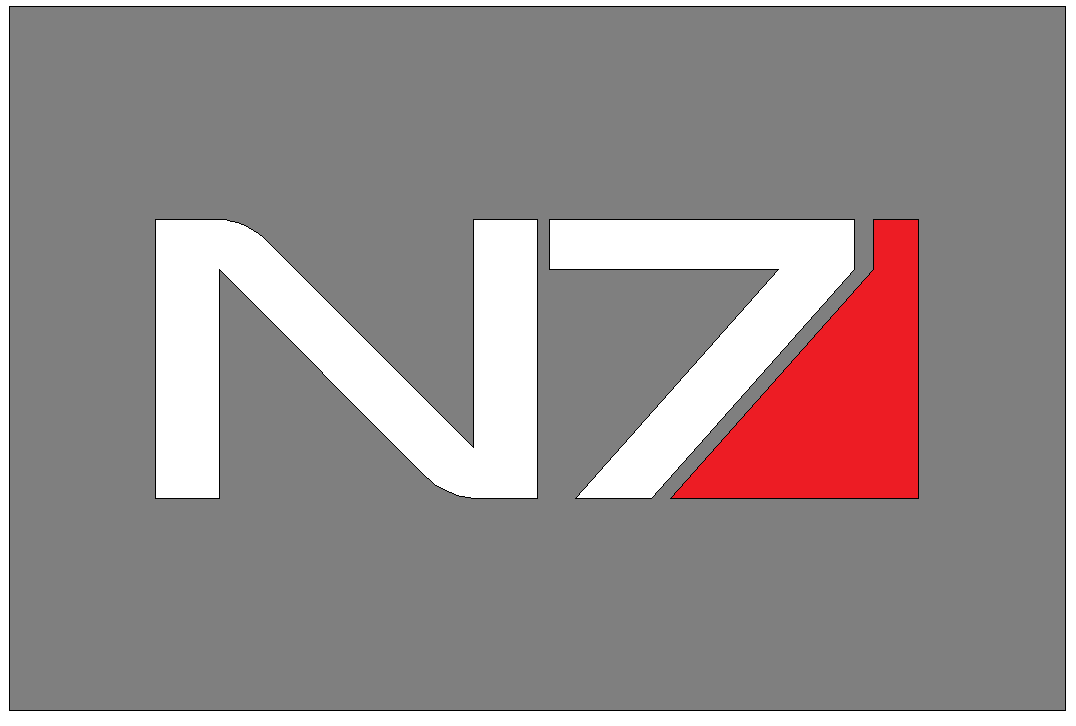 N7 logo from Mass Effect