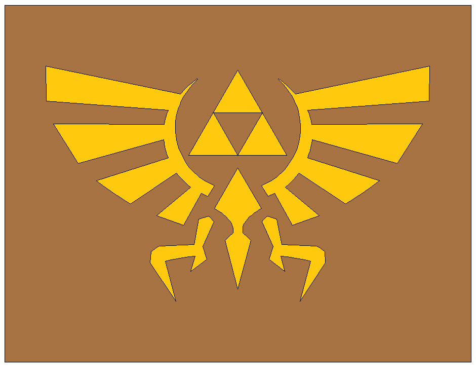 Royal Crest from Legend of Zelda