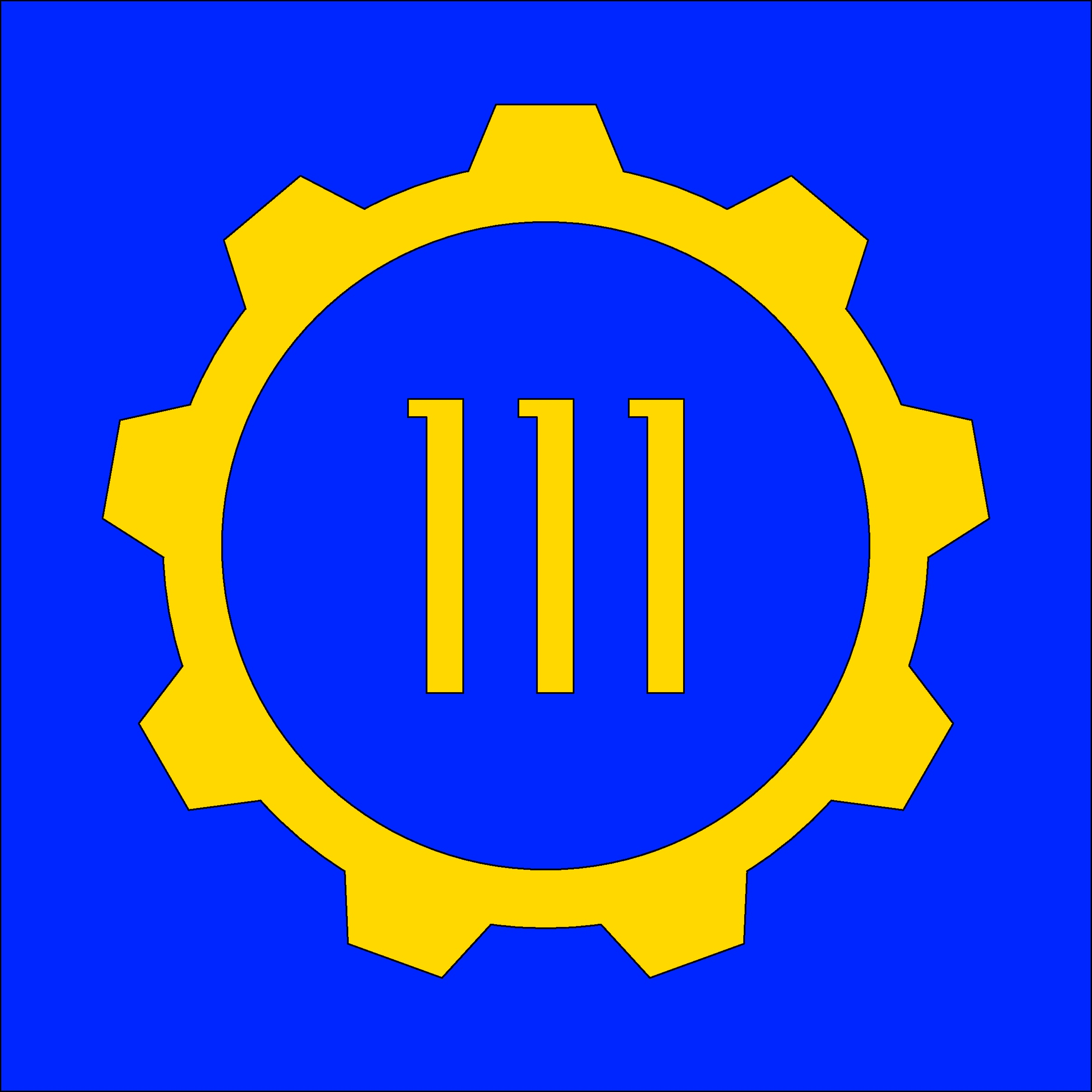 Vault 111 from Fallout 4