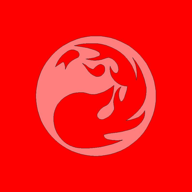 MTG Mountain Mana Symbol