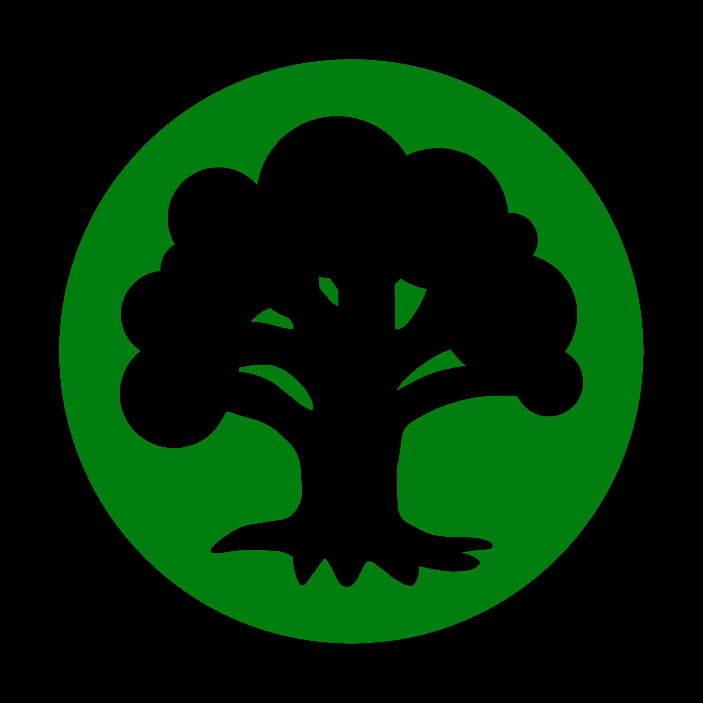 MTG Forest Mana Symbol