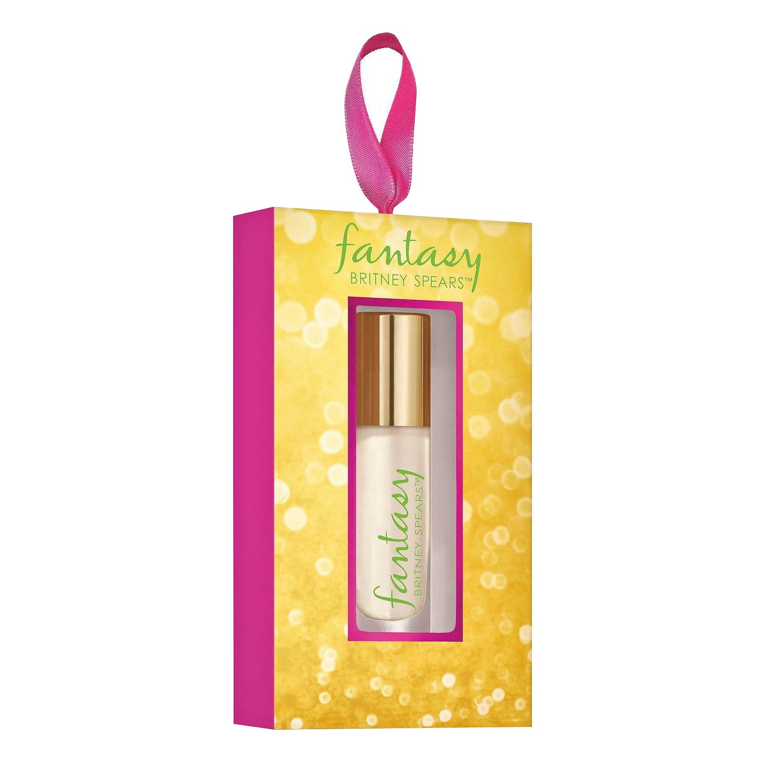 Fantasy by Britney Spears Fragrance Rollerball Ornament   $4.88 at Target.com