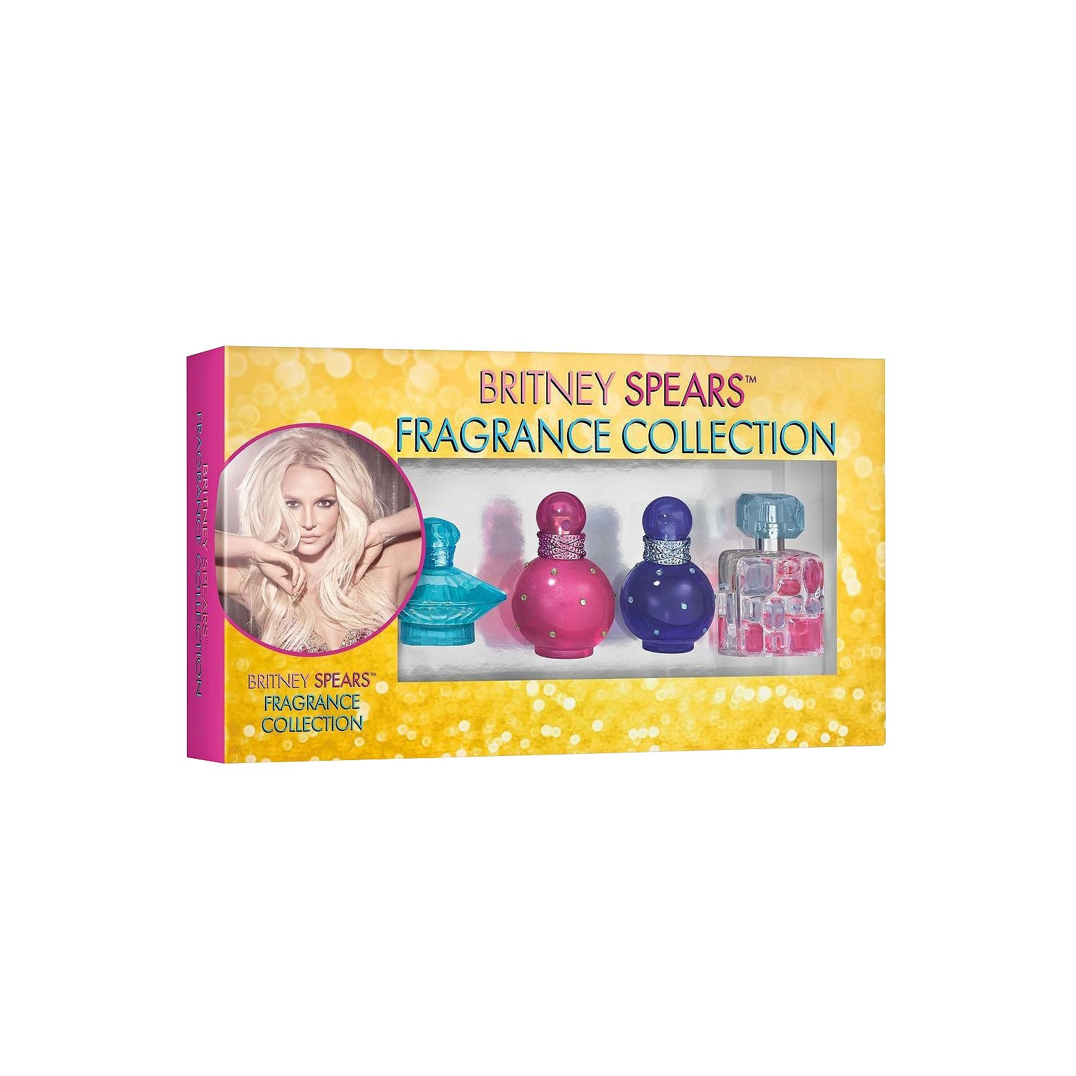 Britney Spears Fragrances Sampler Gift Set - 4 Pieces  $38 at Target.com