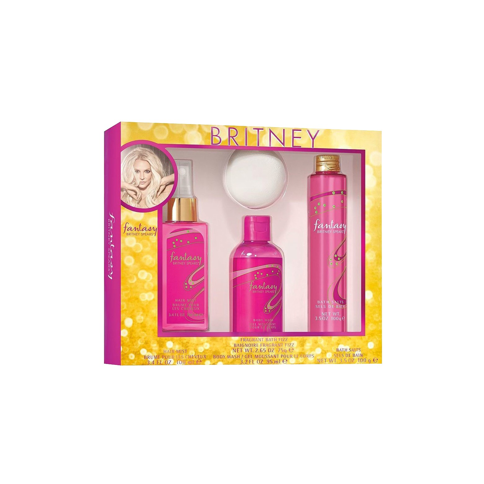Fantasy By Britney Spears Fragrance Bath Set - 4 Pieces  $9.99 at Target.com  Previously found at Walgreens & unboxed exclusively on DerekPlease.com