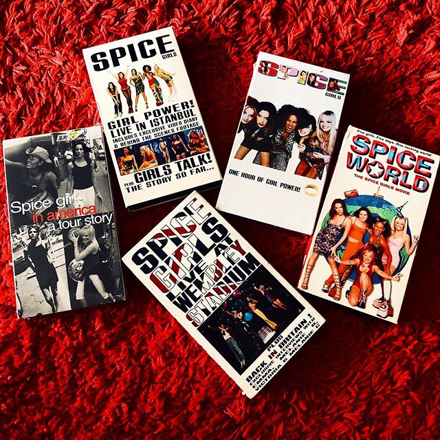 My @spicegirls VHS collection 📼