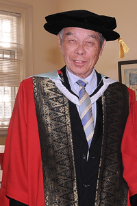Dato' seri goh eng toon - honorary doctor of laws