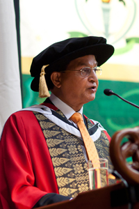 Dr abdul waheed khan - honorary doctor of letters