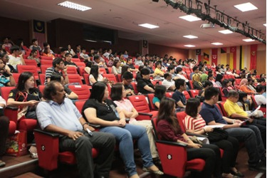 Orientation at the main campus