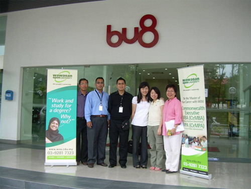 The new BU8 office.