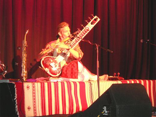 Prem Joshua, a talented flautist.