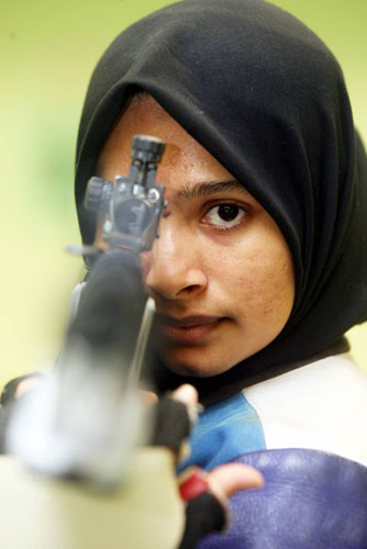 Shahera - Shooting for gold.