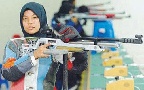 Silver medal winner, Muslifah.