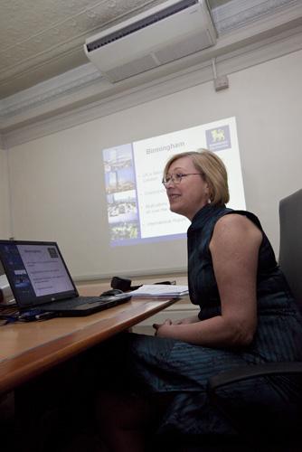 Cheryl Badhams explains more on Birmingham City University.