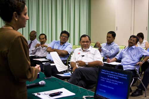 Dr Mogana suggests employers encourage employees to seek additional skills.