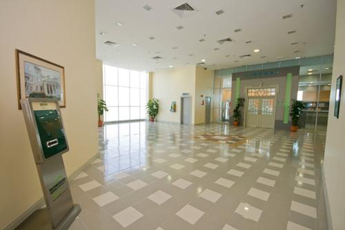 Exhibition foyer.