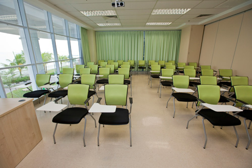 Seminar Room.