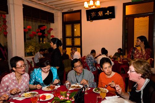 Dinner at the Sun Yat-Sen Memorial.