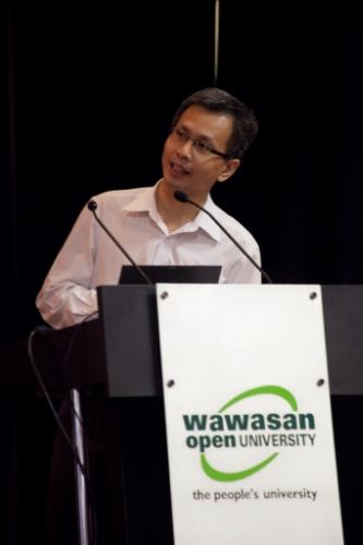 Tony Pua presents his facts.