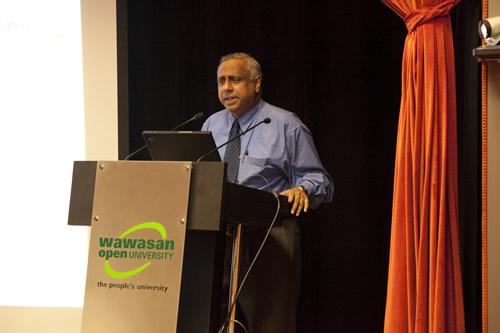WOU Deputy Vice Chancellor U K Menon.