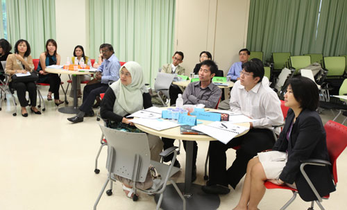 Part of the participants at the workshop.