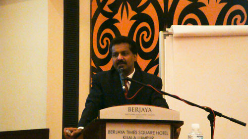 Selva talks about media relations.