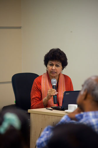 Prof Kanwar shares her insights on ICTs.