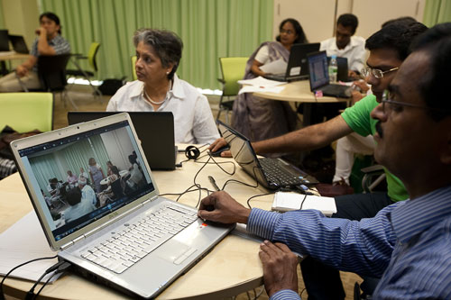 Participants learn how to enhance their educational content with multimedia.