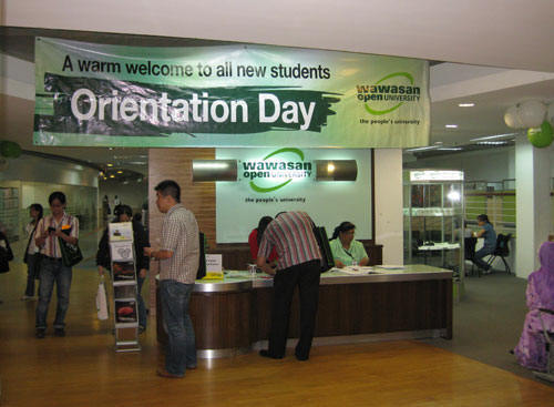Orientation at KL campus.