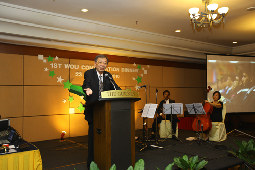 Tun Dr Lim shares about his academic experience.