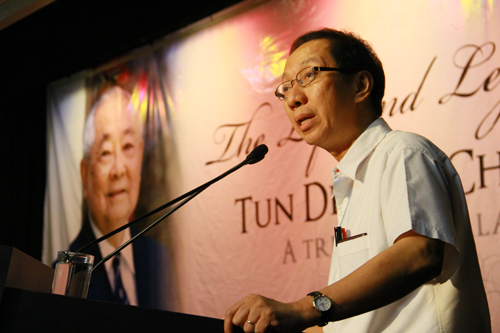 Dr Koh was the last political secretary to Tun Lim while he was Chief Minister of Penang.
