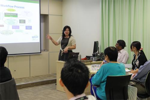 Grace Lau speaks about QA in course development.
