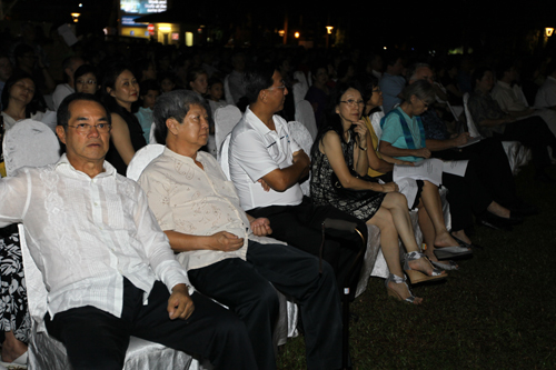 From left: Dato' Seri Stephen Yeap, Prof Dato' Dr Wong Tat Meng, Loo Choo Teng and Datin Dr Annie Foo.