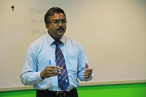 Dr Shankar is from Universiti Sains Malaysia.