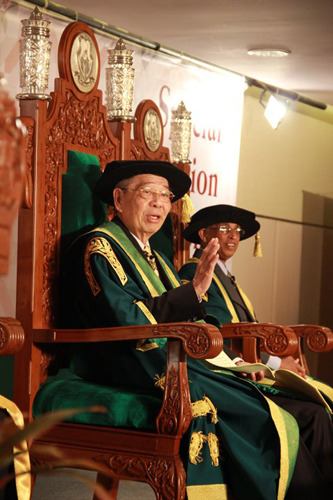Tun Lim shares personal anecdotes about the recipients.