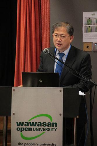 Dr Gwang-Jo Kim of UNESCO.