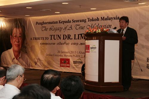 Dato' Haron Siraj talks about his former boss.