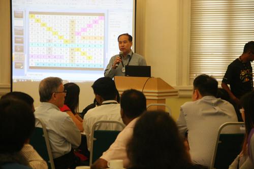 Dr Seah Soo Aun applauds the achievements.