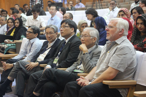 Delegates at the conference.