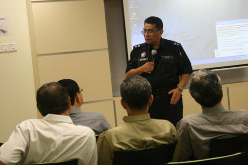 Supt Suhaimi offers police perspective to the problem.