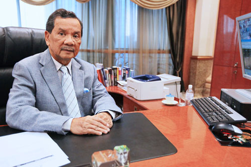 New WOU Chancellor Tun Dzaiddin.