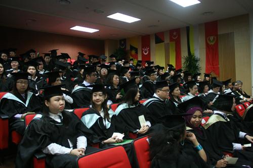 The University's latest graduates.