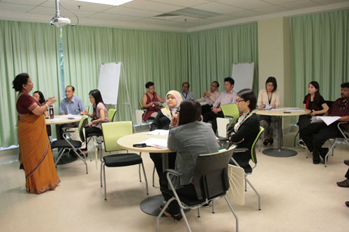 Participants at the workshop.