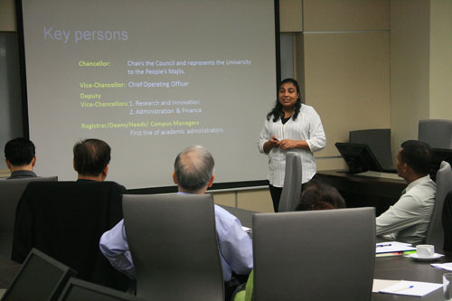 Aishath shares about Maldives National University.