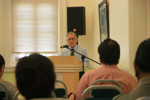 Prof Ho elaborates on the Chancellor's Lecture Series.
