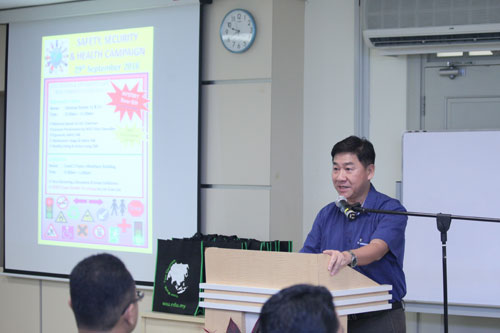 Yeong applauds the steps taken to keep the campus safe.