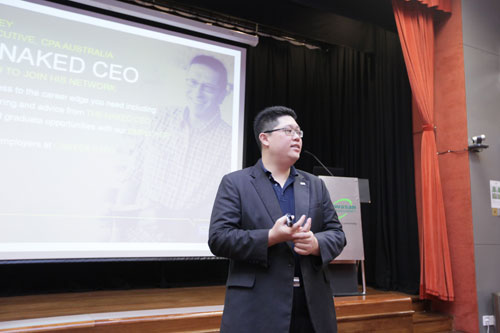 Wong talks about CPA Australia and the opportunities available.