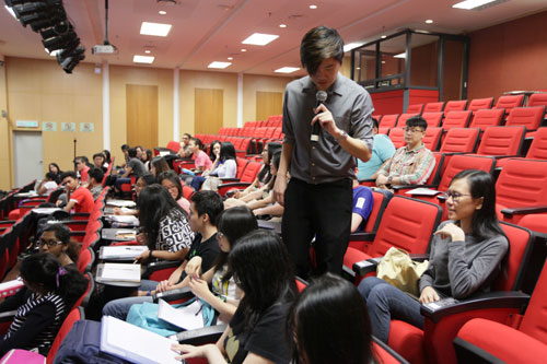 Chong offers pointers on how to write resume and prepare for job interviews.