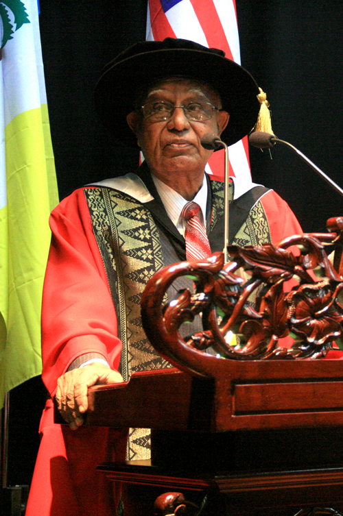Dato' seri dr t devaraj - honorary doctor of letters